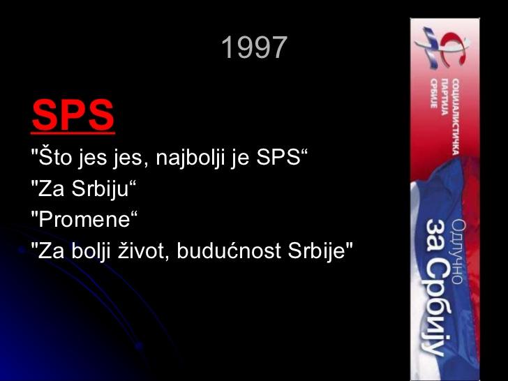 Izborne kampanje 1997. godine