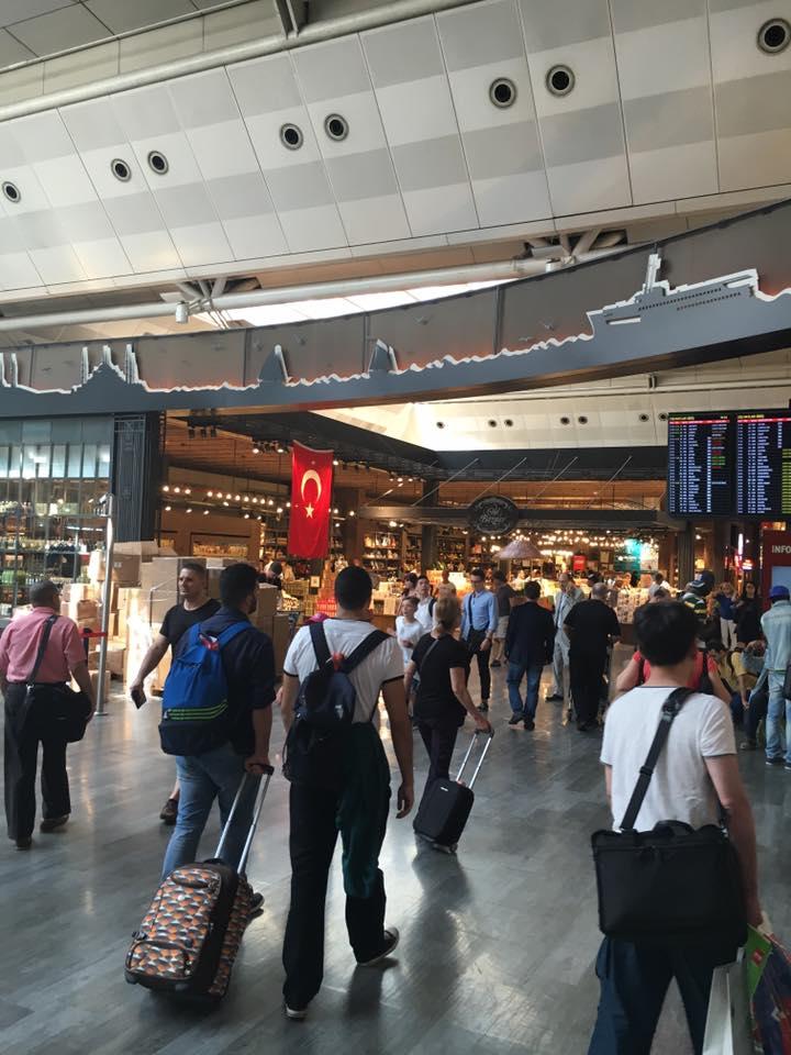 TURSKI VAJS: Bili smo na aerodromu u Istanbulu, par dana posle napada i bilo nam je onako