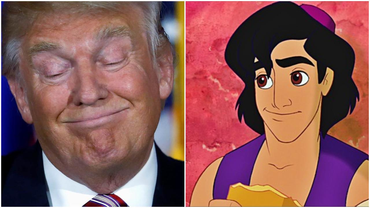 Četiri sličnosti između Aladina i Donalda Trampa