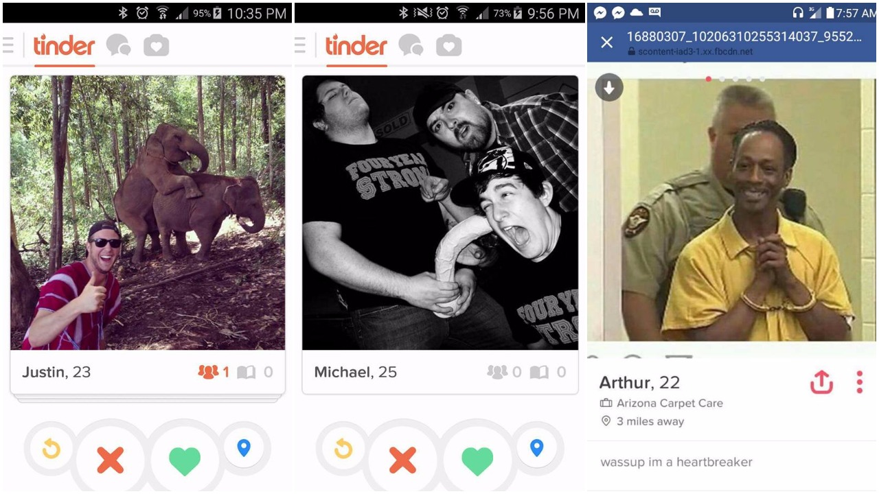 Top 15 Tinder zločina koje muškarci prave